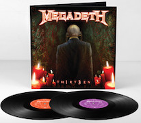 DVD/Blu-ray-Review: Megadeth - Th1rt3en (2011) – Vinyl-Ausgabe